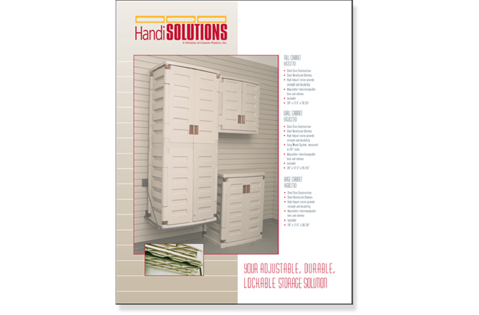 HandiSolutions: Brochure, Catalog, Sellsheets