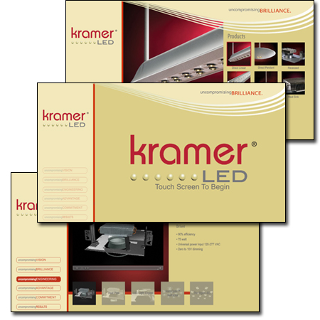 Kramer Lighting KramerLED Presenter's Kiosk