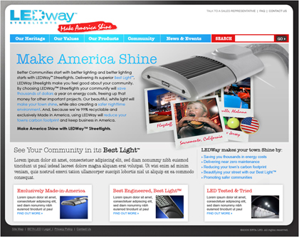 LEDway Streetlights™ Brand Launch: PHASE 1