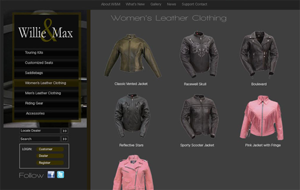 Alternate Ecommerce Website Design