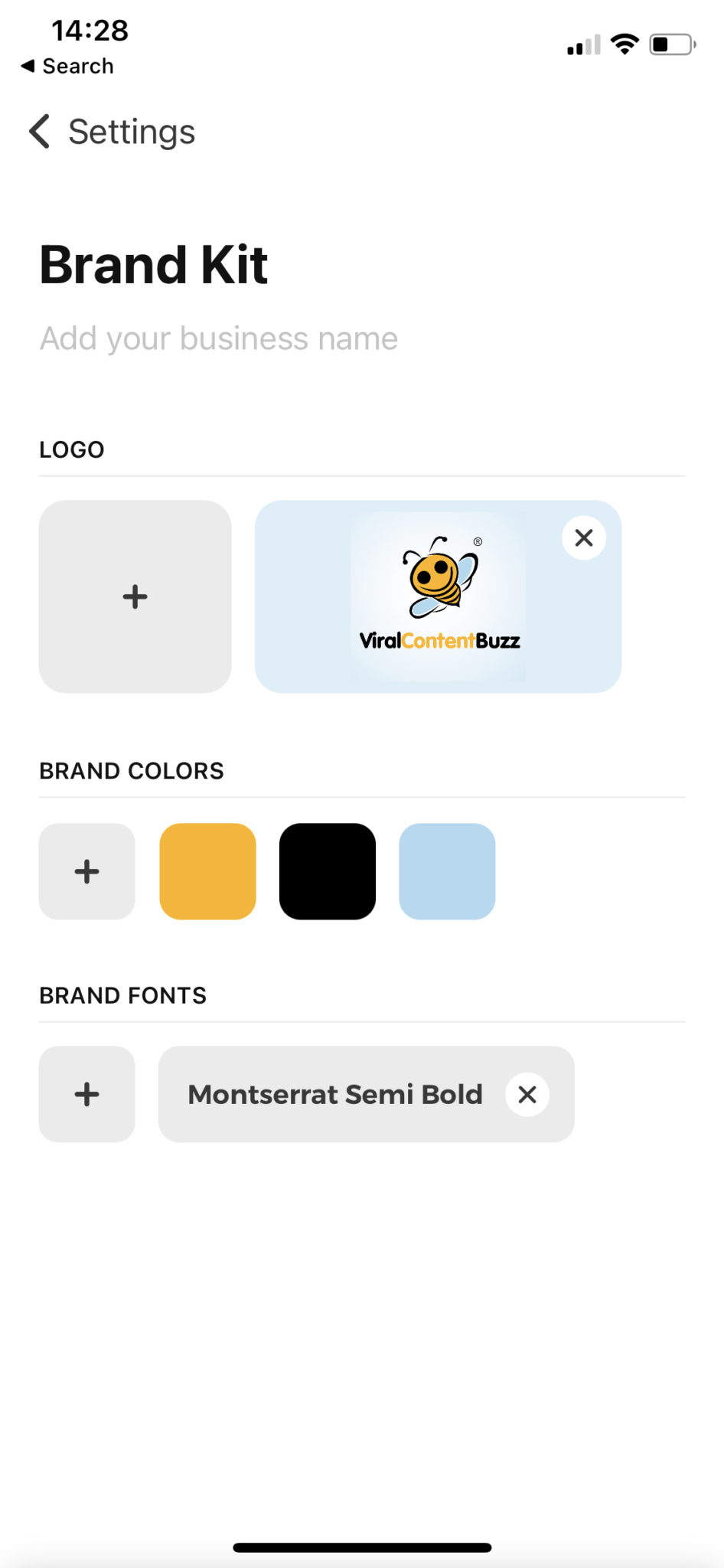 Creating a brand kit for seasonal campaigns