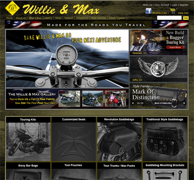 Willie & Max: Branding, Website Design and Implementation